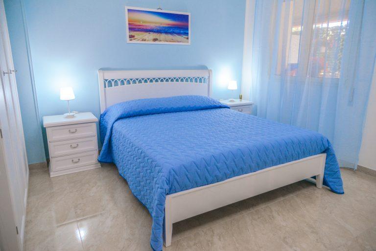 Ortensia è una delle cinque stanze di Villa Milla, casa vacanze che da alloggio in puglia per vacanze in salento bellissime.